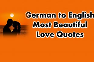 64+ German to English Most Beautiful Love Quotes and Phrases