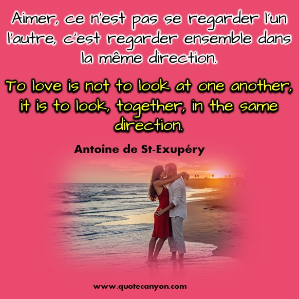 French to English love quotes