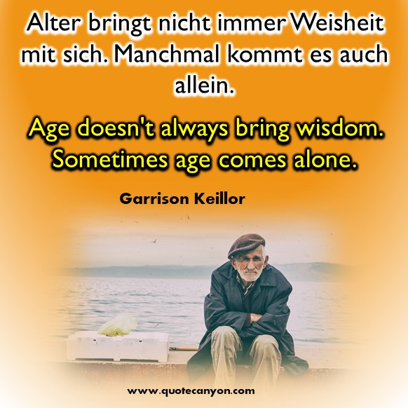 German to English quotes about life