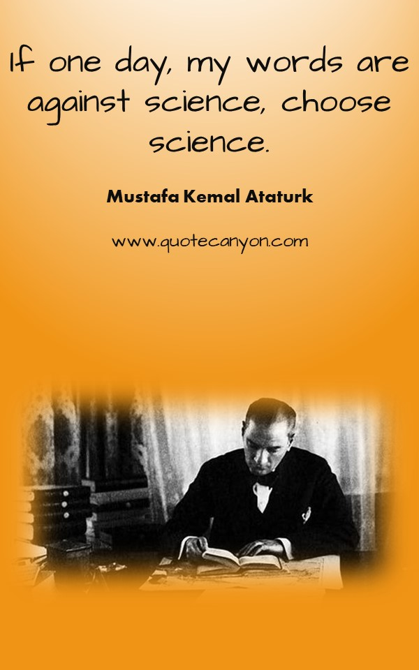 Most Inspiring Ataturk Quotes