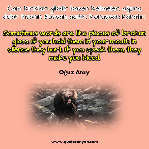 Turkish love quotes with English meaning