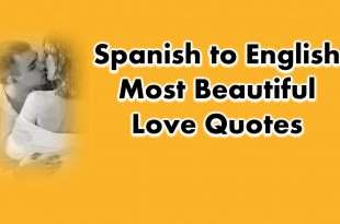 Spanish Love Quotes and Phrases